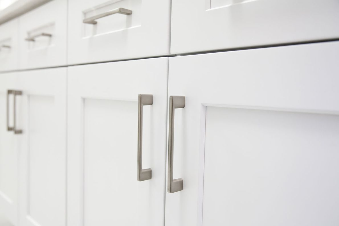 Choose from an array of materials for your shaker style kitchen door.